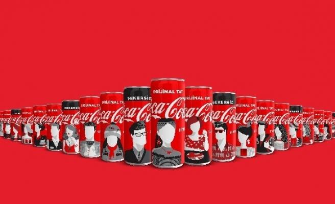 Şehirlerin özgün tasarımları Coca-Cola kutularına taşınıyor