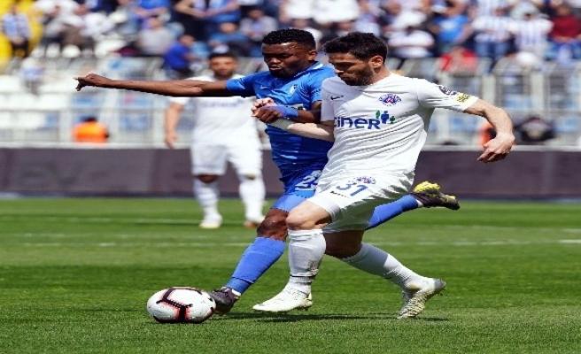 Spor Toto Süper Lig: Kasımpaşa: 1 - BB Erzurumspor: 0 (İlk yarı)