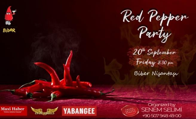Red Pepper Party By Parti Gurusu Senem Selimi