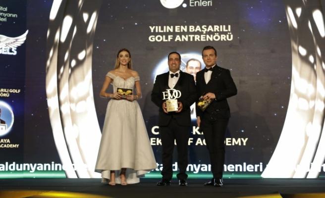 Yılın en başarılı golf antrenörü: Cahit Kaya & Belek Golf Academy seçildi.