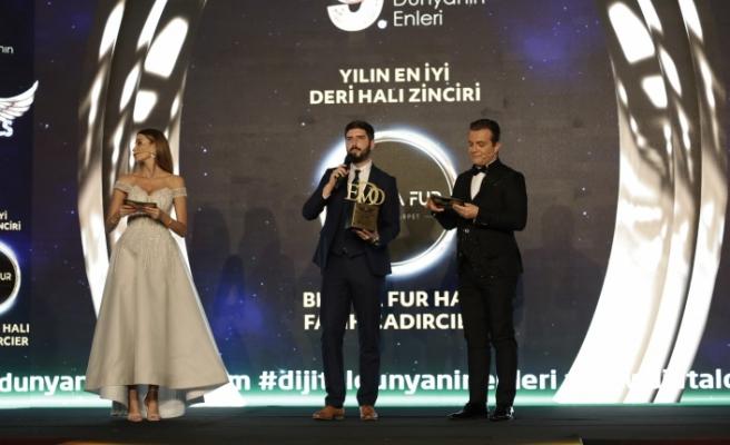 Yılın en iyi deri halı zinciri: Bienna Fur Halı & Fatih Çadırcıer seçildi.