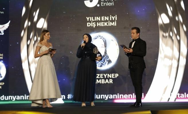 Yılın en iyi diş hekimi: Dt. Zeynep Ambar seçildi.