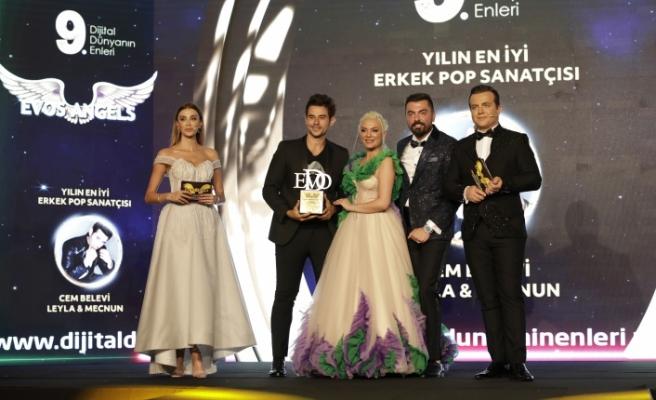 Yılın en iyi erkek pop sanatçısı: Cem Belevi seçildi.