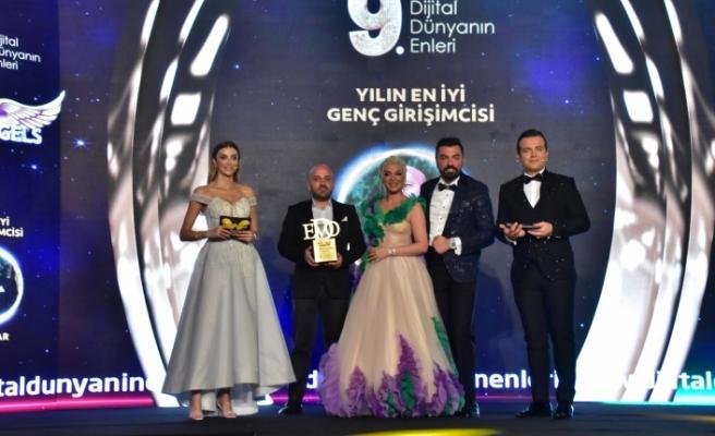 Yılın en iyi genç girişimcisi: Ömer Oyar seçildi.