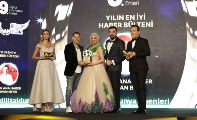 Yılın en iyi haber bülteni: Show Ana Haber / Rıdvan Bıyık seçildi.