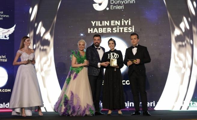 Yılın en iyi haber sitesi: Haberler.com & Sümeyra Teymur seçildi.