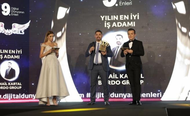 Yılın en iyi iş adamı: İsmail Kartal / Bordo Group seçildi.