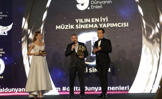 Yılın en iyi müzik sinema yapımcısı: Zeki Sincar seçildi.