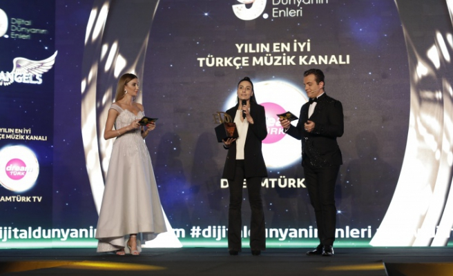 Yılın en iyi Türkçe müzik kanalı: Dreamtürk TV seçildi.