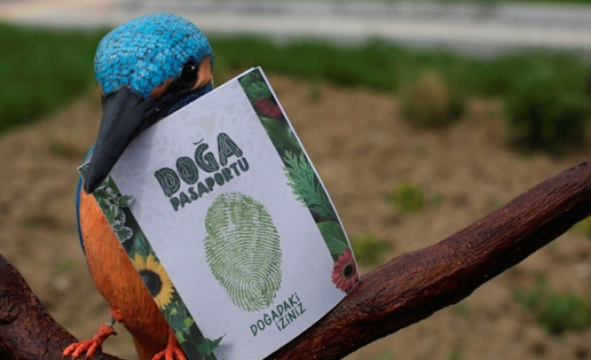 234 kuşu görmek için doğa pasaportu alacaksınız