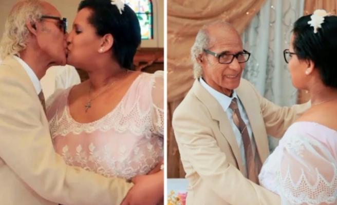 29'luk hukuk öğrencisi, kendisinden 51 yaş büyük adamla evlendi