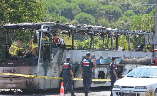 5 Kişi Hayatını Kaybetmişti: Balıkesir'de Yolcu Otobüsündeki Yangınla İlgili 2 Tutuklama