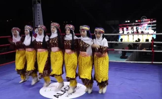 5 ülkeden 18 boksör Şampiyon Boks Gecesi'nde ringe çıktı