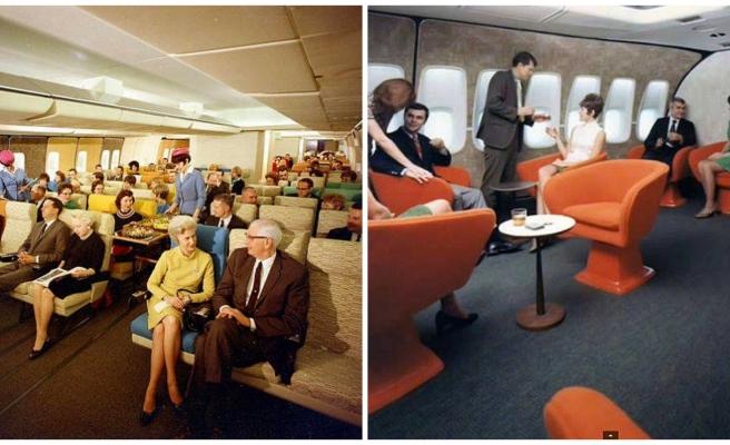 70'li Yıllarda Uçakların ve Uçmak Deneyiminin Çok Çok Farklı Olduğunu Gösteren 22 Şaşırtıcı Fotoğraf
