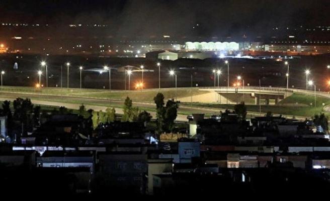 ABD askerlerinin de bulunduğu Erbil Havaalanı'na füze saldırısı düzenlendi