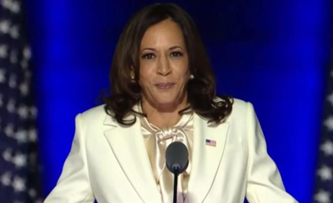 ABD Başkan Yardımcısı Seçilen Kamala Harris Zafer Konuşmasında Annesini Unutmadı