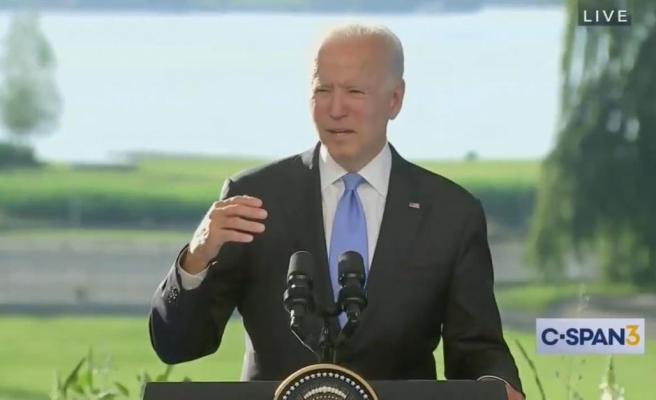 ABD Başkanı Biden, Konuşmasında 'Başkan Putin' Yerine yanlışlıkla 'Başkan Trump' Dedi