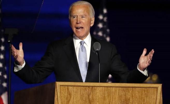 ABD başkanlığına seçilen Biden zafer konuşması yaptı: Bölen değil, birleştiren olacağım