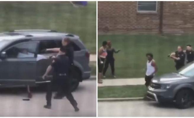 ABD'de Polis Şiddeti Durulmuyor: Arkası Dönük Bir Şekilde Polislerden Uzaklaşan Adam Arabaya Binerken 7 Kurşunla Vuruldu