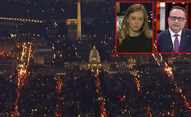 ABD'deki olaylar sonrası demokrasi sorusu gelince, CNN International muhabirini apar topar yayından aldı