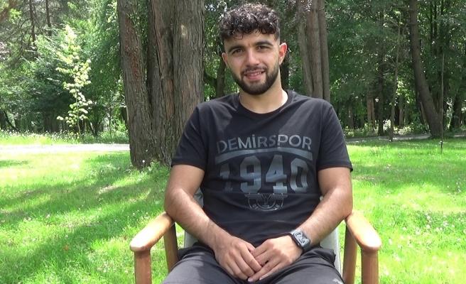 Adana Demirsporlu Sinan: 'Uzun süre bekledik, bu ligde kalmalıyız'