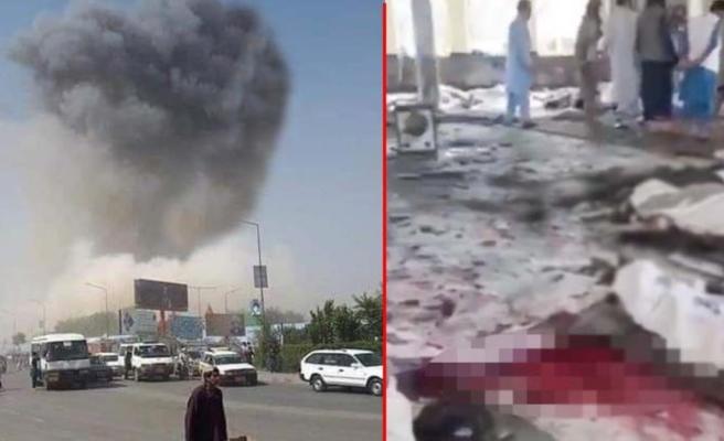 Afganistan'da cuma namazı sırasında bir camiye bombalı saldırı düzenlendi: 50 ölü, 90 yaralı