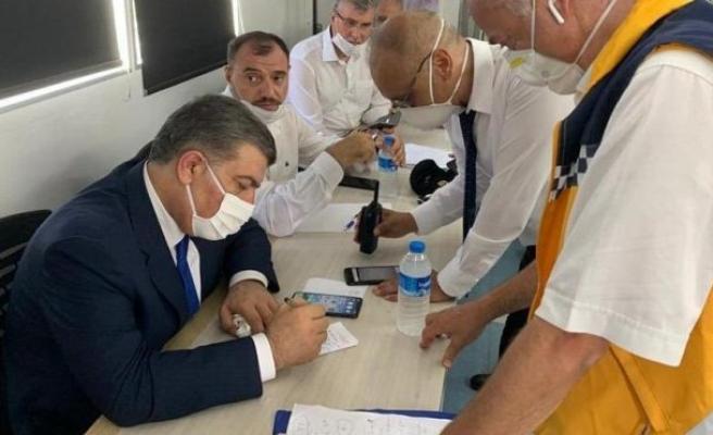 Afiyet Bakanı Koca'dan havai fişek fabrikası ile ilgili açıklama