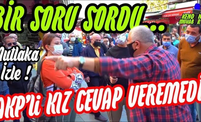 AKP'yi Destekleyici Sözler Söyleyen Kadını Sus Pus Ettiren Soru: 'Osman Öcalan'ı TRT'ye Kim Çıkardı?'