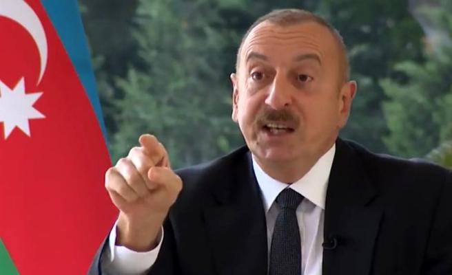 Aliyev açtı ağzını yumdu gözünü! Kendisine basın özgürlüğü suçlaması yapan BBC'ye Batı'nın iki yüzlülüğünü anlattı