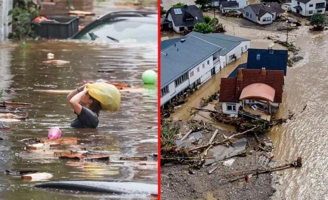 Almanya'da sel felaketi! 58 kişi yaşamını yitirdi, onlarca kişi kayıp