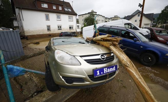 Almanya'daki Sel Felaketinde Can Kaybı 103'e Yükseldi