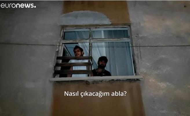 Altındağ'da Suriyelilere Ait Ev ve İş Yerlerine Saldırı: Evi Taşlanan Suriyeliler Anlatıyor