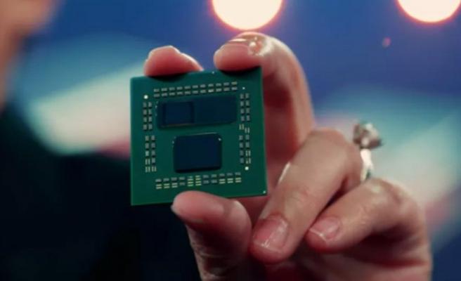 AMD 3D Chiplet tanıtıldı