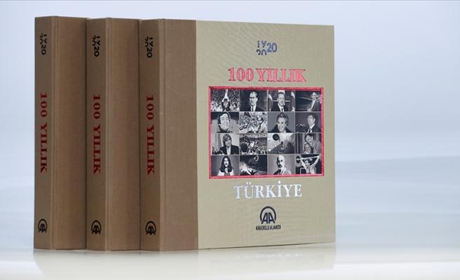 Anadolu Ajansı Kuruluşunun 100. Yılında 1920-2020 Yılları Arasını Kapsayan '100 Yıllık Türkiye' Kitabı Çıkardı