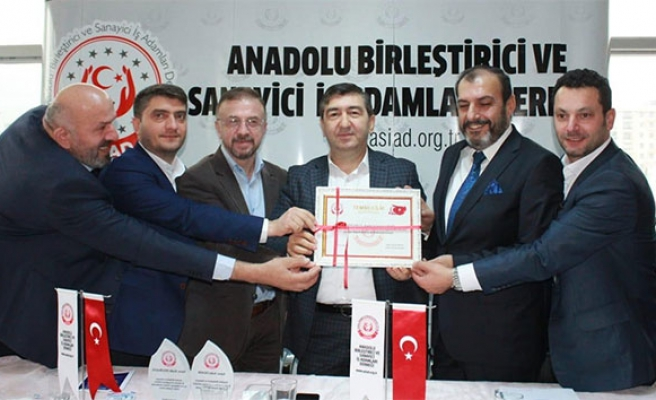 Anadolu ASİAD'ın Avrupa temsilcisi Sedat Demir oldu