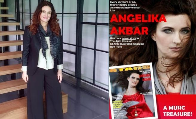 Anjelika Akbar dünyaca ünlü dergiye kapak oldu