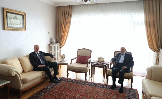 Ankara'da Neler Oluyor? Erdoğan'dan Saadet Partili Oğuzhan Asiltürk'ün Evine Ziyaret