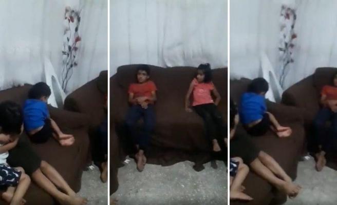 Ankara'da Yaşanan Olaylardan Sonra Bir Suriyeli Ailenin Çocuklarının Korkmaması İçin Müzik Açtığı Anlar