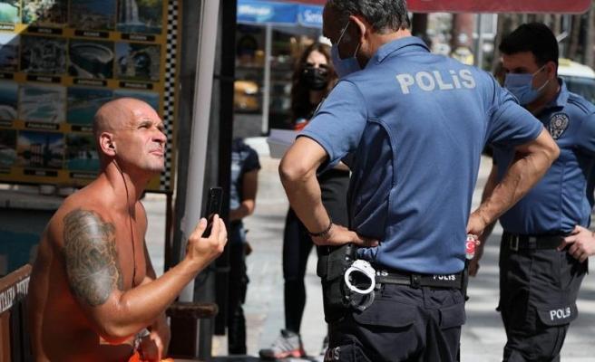 Antalya'da Kadın Polise Ahlaksız Teklifte Bulunan İngiliz Turist Serbest