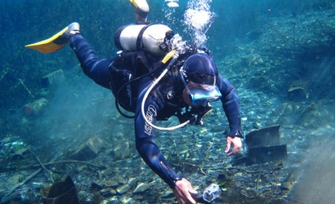 Antalya'nın içme suyu kaynaklarından Kırkgöz Göleti'nde şoke eden kirlilik görüntüleri