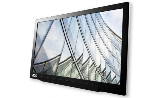 AOC'den yeni portatif monitör!