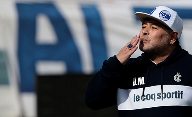 Arjantin'de Maradona çılgınlığı!