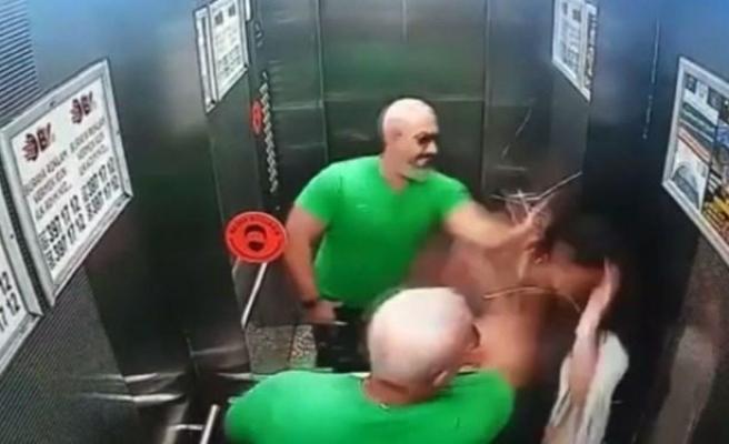 Asansörde Kızını Döven Baba Gözaltına Alındı