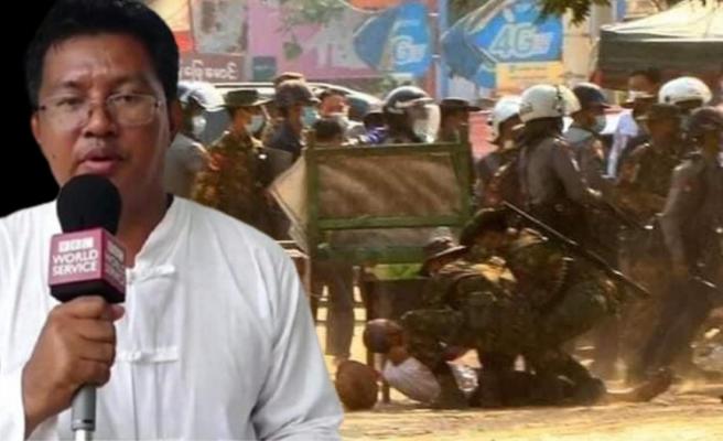 Askeri darbeyle kan gölüne dönen Myanmar'da BBC muhabiri silahlı bir grup tarafından kaçırıldı