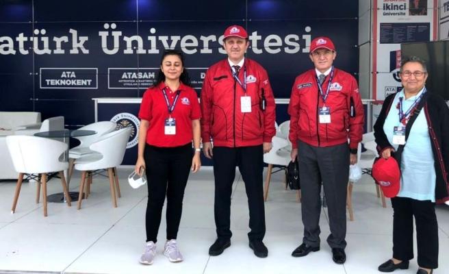 Atatürk Üniversitesi Teknofest 2021'de yer aldı