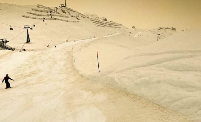 Avrupa'da sarı kar endişesi