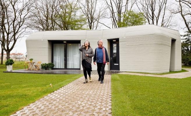 Avrupa'nın İlk Yaşanabilir 3 Boyutlu Baskı Evi Kiracılarına Teslim Edildi
