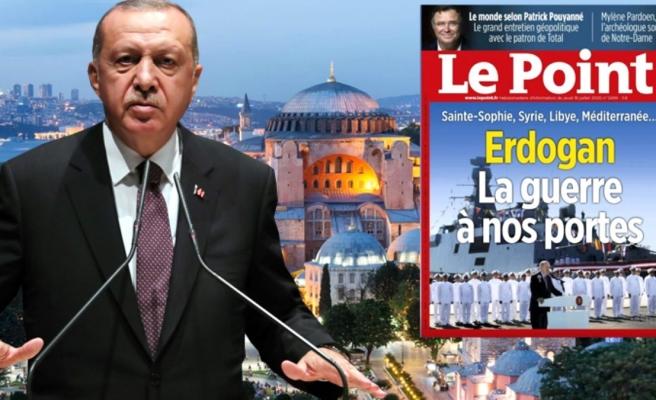 Ayasofya'nın ibadete açılması Fransızları rahatsız etti! Ünlü dergiden küstah savaş tehdidi