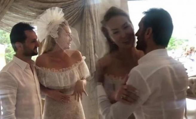 Aylin Coşkun evlendi