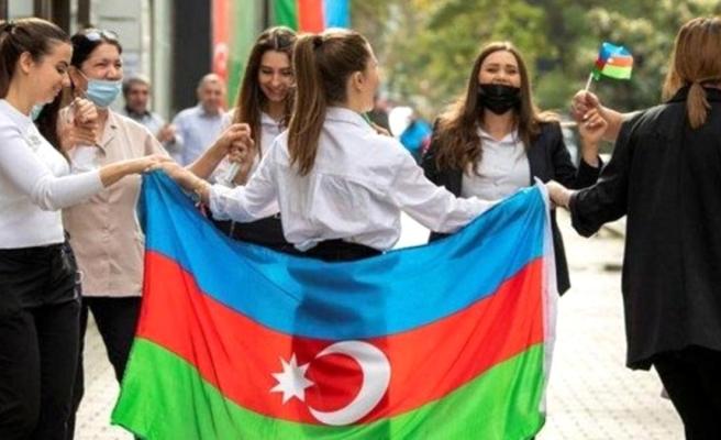 Azerbaycan'da Rus Barış Gücüne protesto: Defol Rusya, Türkiye gel